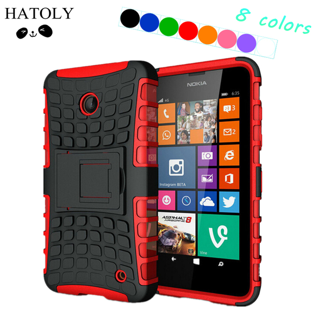 newest afd1b 8b399 US $3.18 24% OFF|sFor Cover Nokia Lumia 630 Case Hard Rubber Silicone Phone  Case for Microsoft Lumia 630 Cover for Lumia 635 636 638 N630 N635-in ...