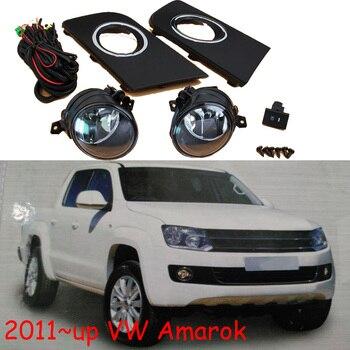 1set car headlight for Amarok fog Light car accessories 2011~2016y headlamp for Amarok fog lamp