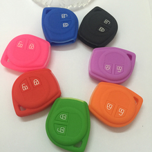 Silicon Cover Remote Key Silicone Protecting Key Car Case Cover Fob Holder For Suzuki Amagatarai Shangyue