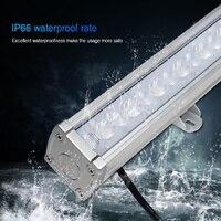 Milight ip66 à prova dmiágua dc24v subordinado lâmpada SYS-RL1 24w rgb + cct conduziu a luz da arruela da parede drived por SYS-T1 controle remoto do anfitrião
