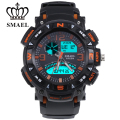 SMAEL Brand Watch Sport Analog-Digital Dual Time Wristwatch Military Watch Amry relogio masculino montre homme LED Clock WS1327