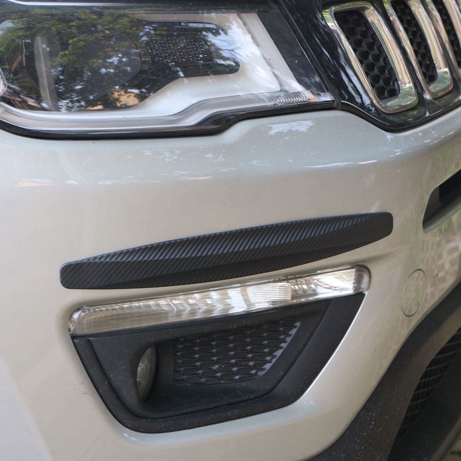 Jameo Auto Car Bumper Protector Corner Guard Anti-Scratch Strips for AUDI S Line A4 A3 A6 C5 Q7 Q5 A1 A5 80 Q3 RS B6 B7 B8 S3 S4 ...