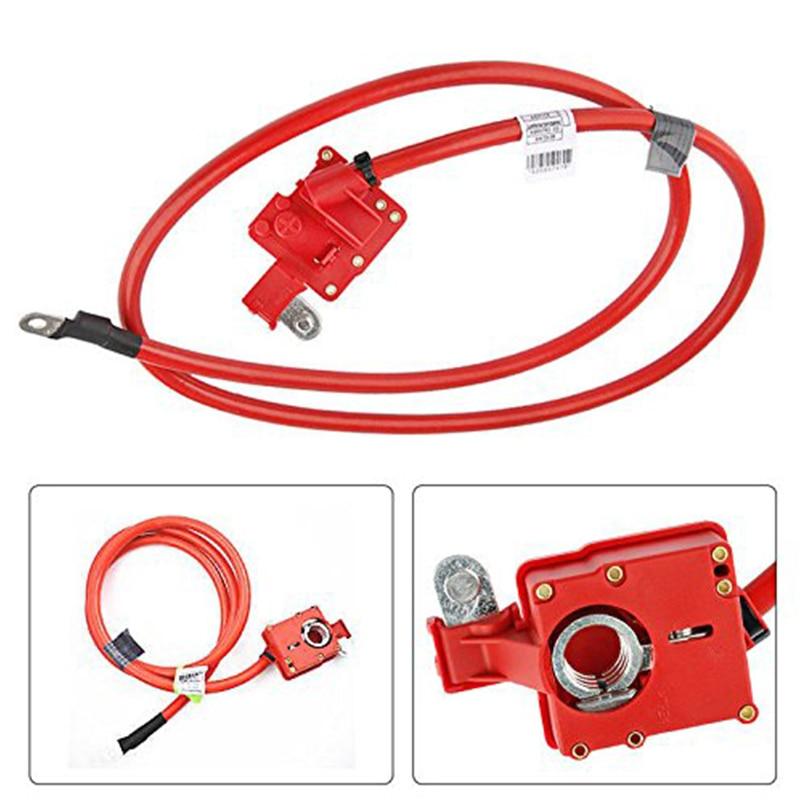 Câble de batterie Auto positif pour BMW E60 520 523 525 540 550 2006-2010 61126989780 pièce d'installation d'accessoires de voiture