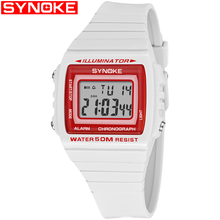 SYNOKE 2019 Best Luxury Watch Fitness Women Watch Digital Wristwatch Luxury Watch Sport Gift for Men Waterproof Diving Watches