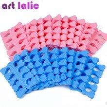 20 peças (10 pares) separador de dedos do pé de espuma eva, ferramentas de suporte e cuidado dos pés para unhas