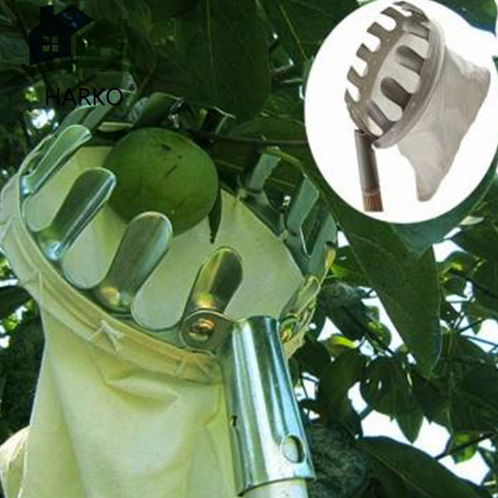 High Quality Metal Fruit picker Convenient Horticultural Fruit Picker Gardening Apple Peach Picking ToolsHigh Quality Metal Fruit picker Convenient Horticultural Fruit Picker Gardening Apple Peach Picking Tools