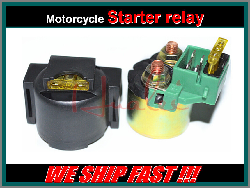 free shipping motorcycle electrical parts starter solenoid relay