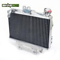 BIKINGBOY MX Offroad Motorcycle 1 PC Aluminum Cores Engine Water Cooling Radiators For Honda CR 125