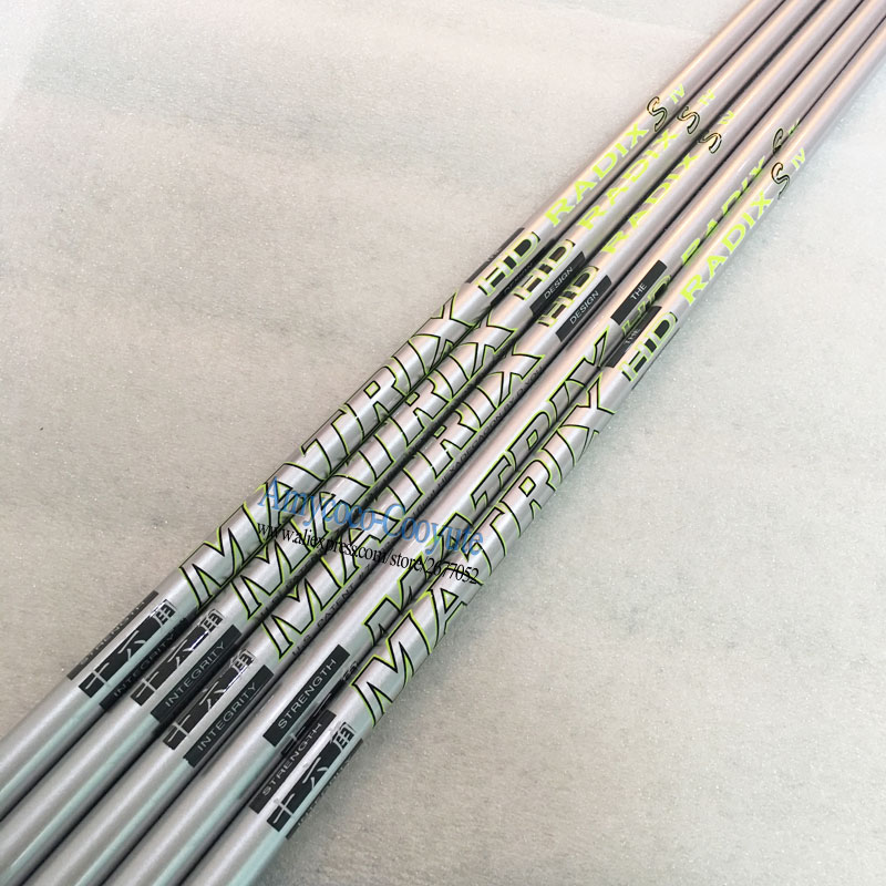 Cooyute 8pcs/lot New Golf shaft MATRIX S IV 4 16 corner Golf driver shaft MATRIX Golf Graphite shaft R or S Flex Free shipping-in Club Shafts from Sports & Entertainment