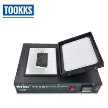 Lcd замороженный сепаратор lcd сенсорный экран разделительная машина для ремонта мобильных телефонов с 10л жидким азотом бак
