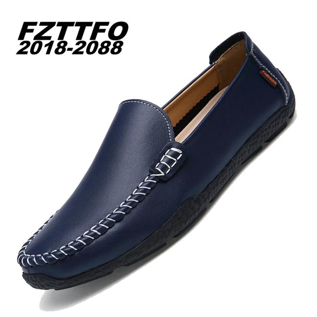 Men's 100% Genuine Suede Leather Driving Shoes,New Moccasins Slip On Handmade Shoes,Brand Design Flats Loafers For Men K294
