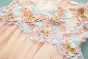 Image 3 - Cielarko Girls Dress Butterfly Kids Flower Dresses Birthday Tulle Children Wedding Party Frocks Formal Baby Ball Gown for Girl