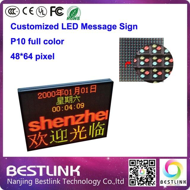 Из светодиодов автомобиля сообщение знак для такси топ из светодиодов вход реклама 48 * 64 пикселей открытый полноцветный из светодиодов экран из светодиодов прокрутки знак