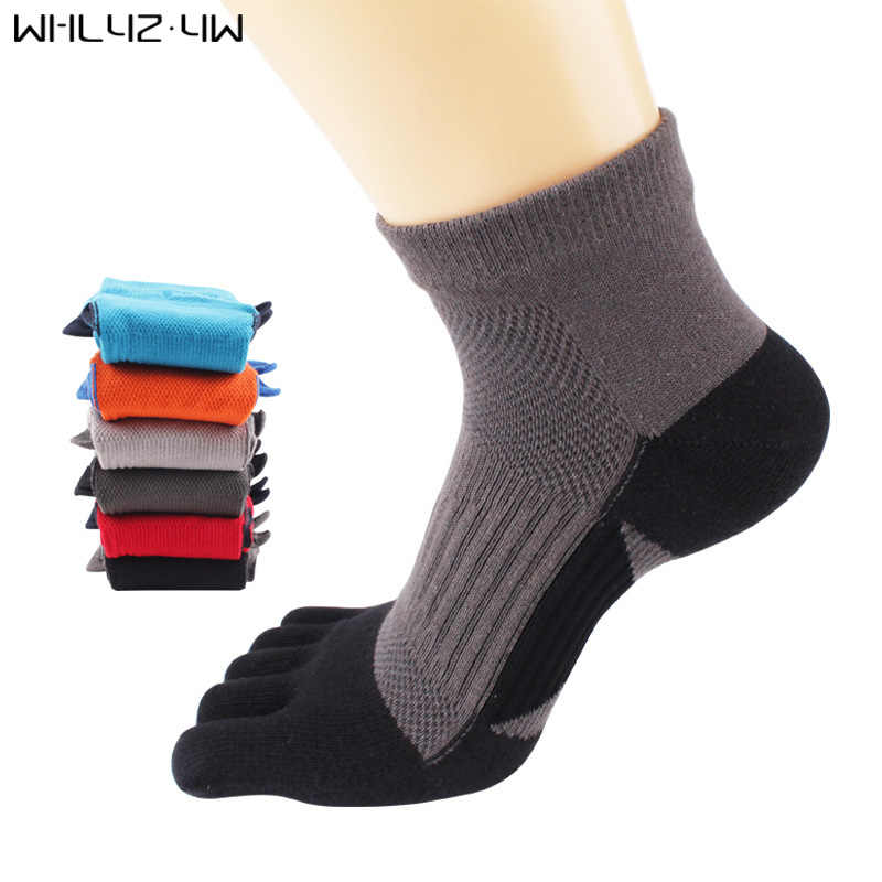 Whlyz YW 5 пар/лот хлопковые носки с пальцами компрессионные пять пальцев носки с КОНОПЛЕЙ смешные мужские носки подходят EU39-44 meia sokken Fashion