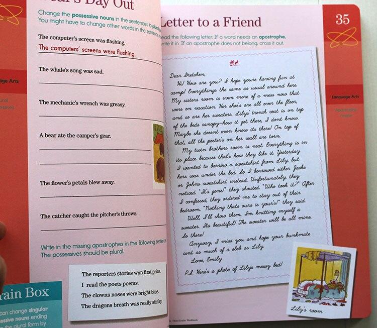 Cerveau Quête classeur Anglais version de le développement intellectuel carte livres questions et réponses carte smart Enfant enfants - 4