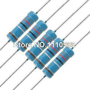 200 шт. металлический пленочный резистор 8,2 Ом 2 Вт 1%
