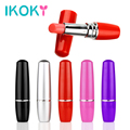 IKOKY Mini Women Adult Product Discreet Women Lipstick Vibrator Electric Vibrating Jump Egg Waterproof Bullet Massage Sex Toy