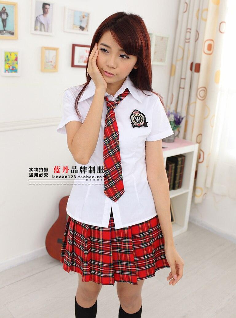 Students In School Uniform British School Uniform Shirt -7616
