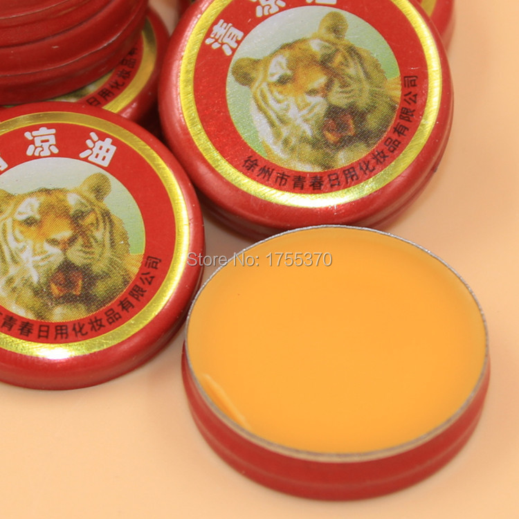 Nuevo 8 unids Tiger Balm yeso ungüento cremas Balsamo de tigre aceites esenciales para Mosquito eliminación dolor de cabeza fría mareos