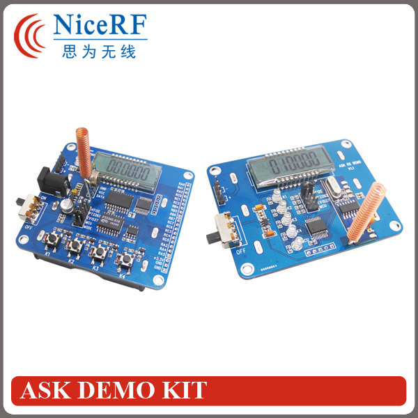ASK Demo kit for STX882/SRX882 ASK transmitter and receiver module