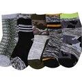 5 pairs / lot 2016 new cotton variety of color style kids socks 1-9 year children socks baby boys socks