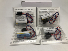 MasterFire 4pcs/lot New Original Battery For ER17330V MR-BAT CNC 3.6V 1700mah PLC Lithium Batteries with Plugs