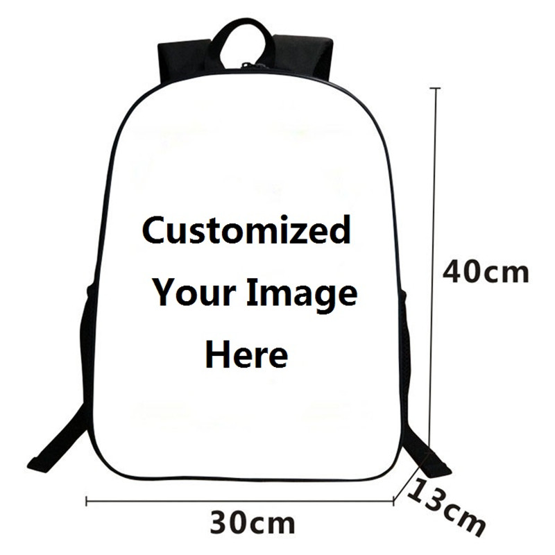 Custom 16 Inch Backpack Cool 3D School Bags For Children Casual Teenagers Bag Men Women's Shoulder Bags Welcome To Drop Shipping