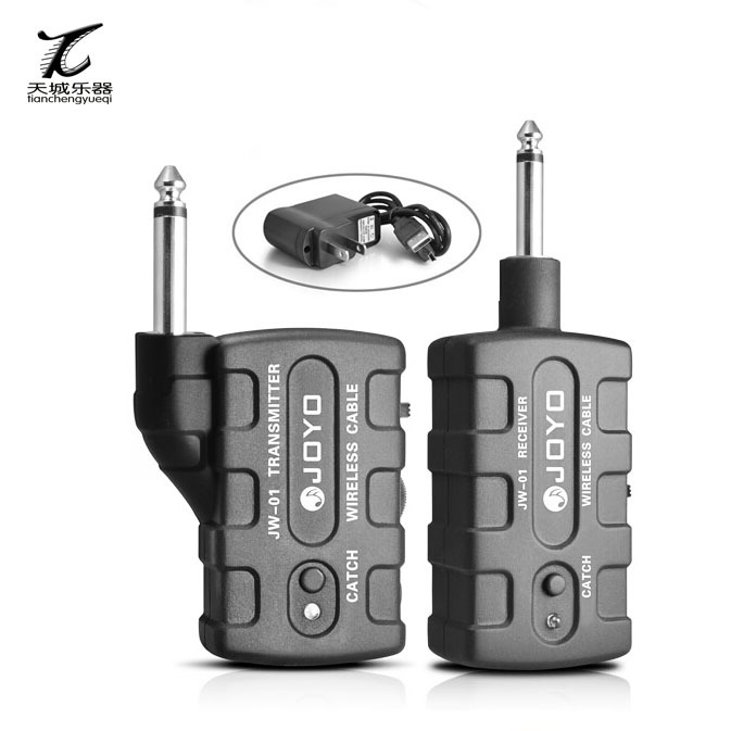 JOYO JW-01 Rechargeable 2.4G Audio Wireless System Digital Bass Guitar Transmitter FREE SHIPPING цена