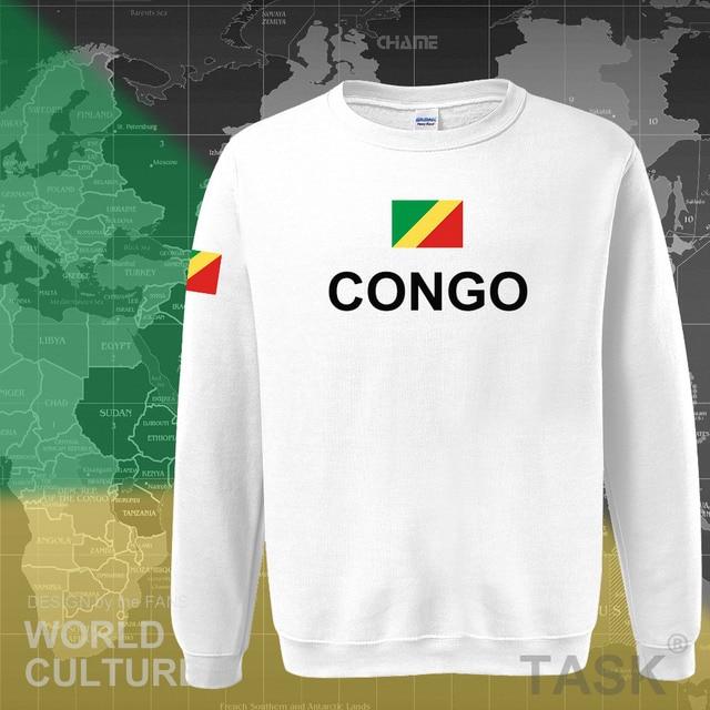 Congo Republic hoodie men sweatshirt sweat new hip hop streetwear tracksuit nation footballer sporting country COG Congolese 4
