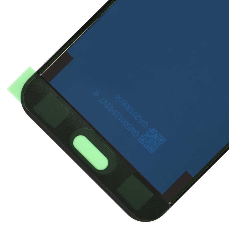 100% اختبار العامل شاشات LCD لسامسونج غالاكسي J3 2016 LCD SM-J320 J320F J320M J320FN شاشات LCD عرض + مجموعة المحولات الرقمية لشاشة تعمل بلمس