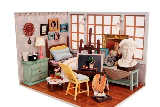 Mobili Per Casa Delle Bambole Fai Da Te : Fai da te in legno in miniatura mobili casa di bambola giocattolo