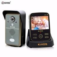 Kivos видео глаз дверной звонок Беспроводной Камера глазок беспроводной дверной звонок Цифровой видео глазок с зумом Камера вызова Ночное ви