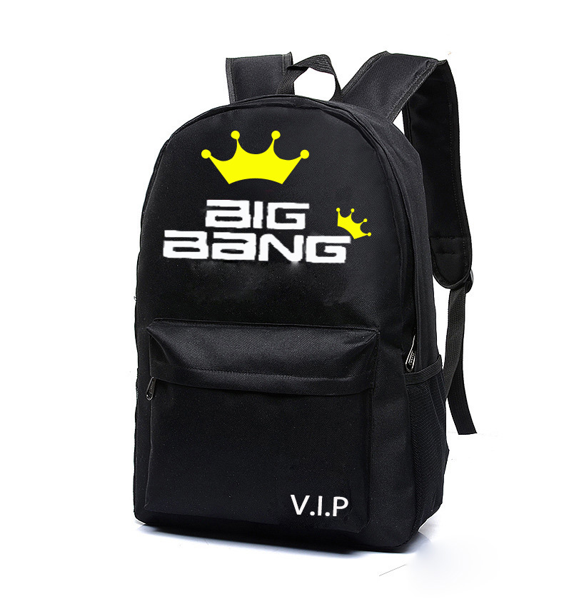 2016 new fashion Kpop TVXQ BIGBANG GD wild fashion shoulder cover travel k-pop bigbang Students canvas mountain tourism