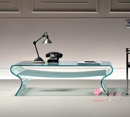 Wholesale Price Glass Office Table Home Work Table Office Table