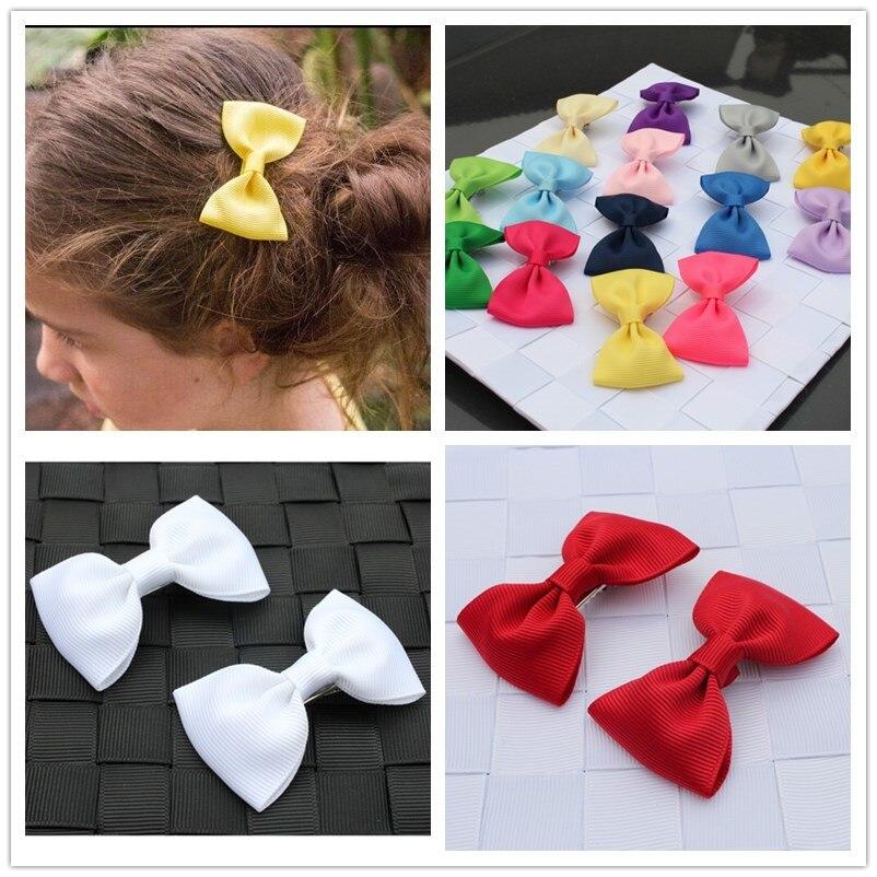 small ribbon bow hair clips hairpin accessories for baby girls kids children mini hair bows barrette hairclip headdress   headwear