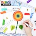 Marvy 1100 кисть маркеры Акварельная Кисть ручка 5 шт/18 шт/36 шт набор кистей ручки мягкая голова ручка для рисования для художественных принадлеж...