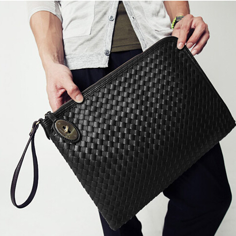 X-Online hot sale man envelope bag men clutch hand bag