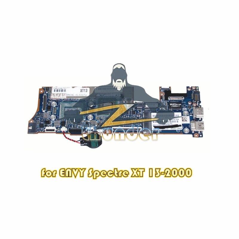 714759-501 LA-8554P pour HP ENVY SPECTRE XT 13-2000 ordinateur portable carte mère i5-3337U HM76 DDR3