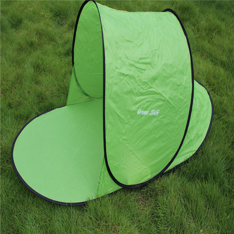 Image 2 - Sun Shelter Foldable Tent For Beach Summer Outdoor UV Tarp Sun Shade Pop Up Cabana Camping Awning Sunshade Beach Tents Canopy-in Sun Shelter from Sports & Entertainment