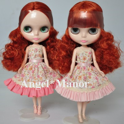 Free shipping Nude Blyth Doll, ring- red  curly  hair, big eye doll,For Girl's Gift,PJ0014 lm solomon solomon electronic practice set seaside ibm pr only