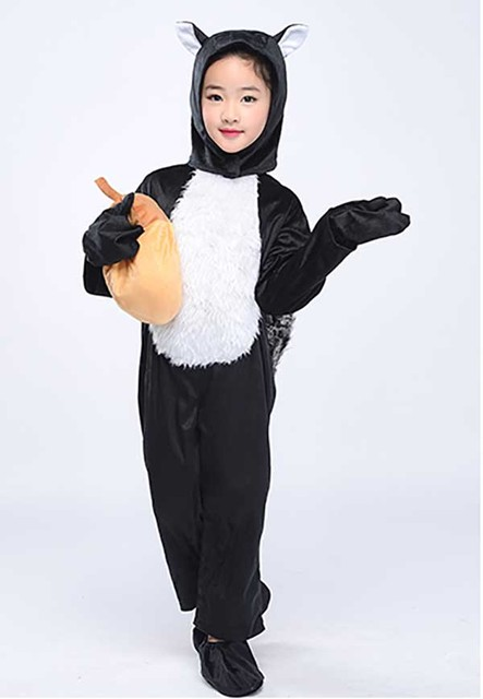 squirrel costume for adult child christmas party jumpsuit animal halloween costume fancy dress for adult
