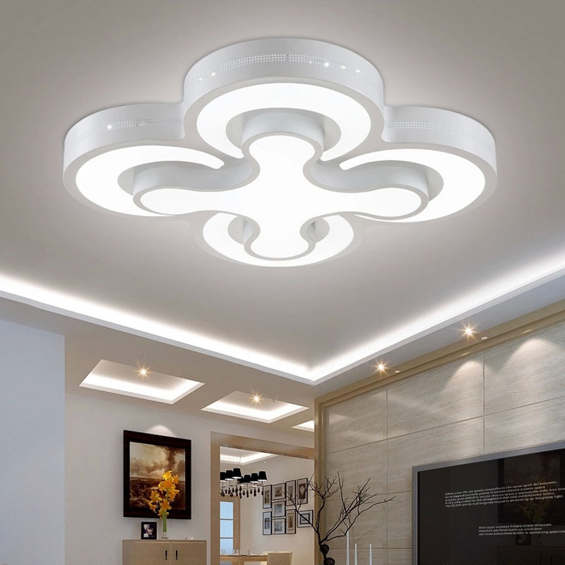Free Shipping Surface Mounted Modern led ceiling lights for living ...