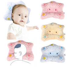 1pcs Newborn Baby Boy Pillows Shaping Pillow Cartoon Anti-roll Pillow Flat Head Sleeping Positioner Bear(China)