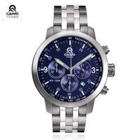 CAINO New Men Expensive Quartz Watches Business Leisure Fashion Men's Watch 316L Steel Bracelet Watch Brand A Gift Of Man