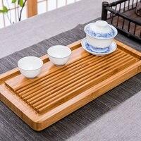 Complete Set Bamboo Tea Tray Teapot Teacup Drainage Household Simple Japanese Kung Fu Tea Set Tea Table Environmental Protection