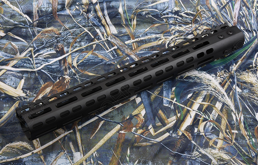 AR 15 tactical picatinny rail system NSR style 7075 Super lightweight Aluminum alloy cutting for AEG hunting shooting R8614 12 durable mil spec style matte finish lightweight aluminium handguard picatinny quad hunting shooting rail for aeg m4 m16 ar15