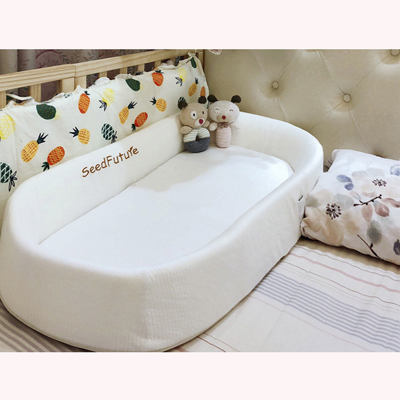 Crib Bed Bed Newborn Portable Baby Bed Multi-function Bionic Bed Foldable Pressure-proof
