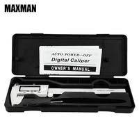 MAXMAN 0 150mm MM INCH All Stainless Steel High Precision Electronic Digital Vernier Caliper 150MM Measuring