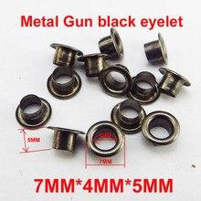 100 шт 7*4*5 мм Металлические Золотые кнопки для украшения швейных аксессуаров для одежды кнопки для проушины в обуви ME-069G