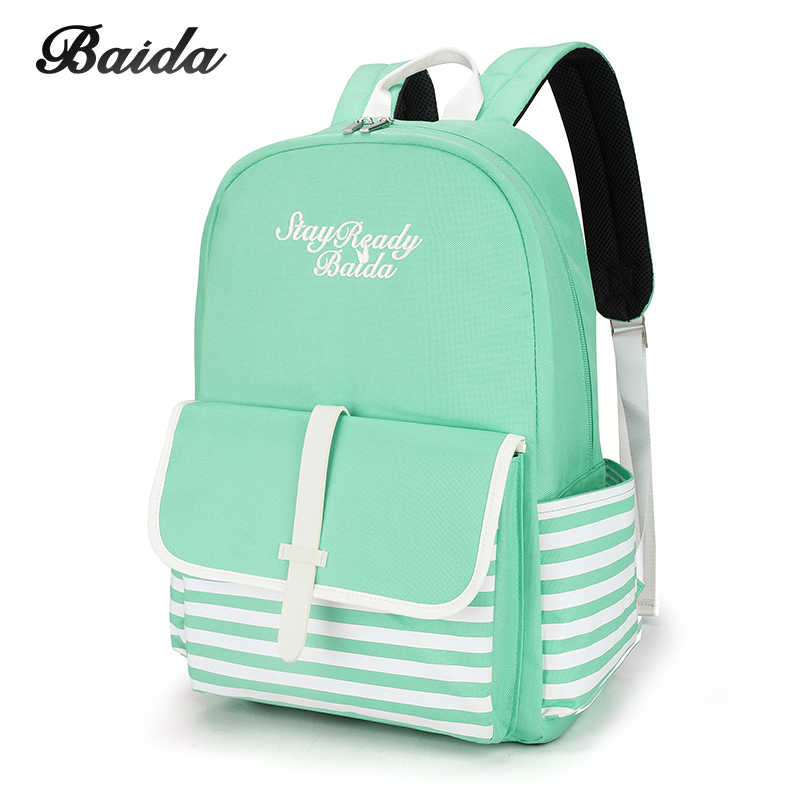 8d574a8181a2 Fashion School Backpacks for Teenage Girls Canvas Women Laptop Back Pack  Female Cute Japan and Korean